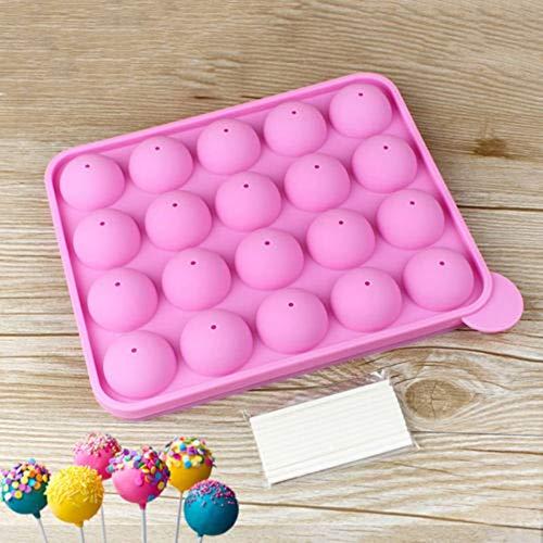 ll Food Grade Silikon Lutscherform Pop Cupcake Schokoladenform Lollipop Kuchenform ()