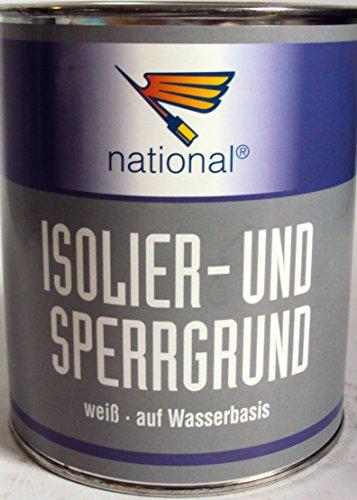 Büchner Isolier- und Sperrgrund / weiss / 2,5 / Isoliergrund auf Wasserbasis für höchste Ansprüche /