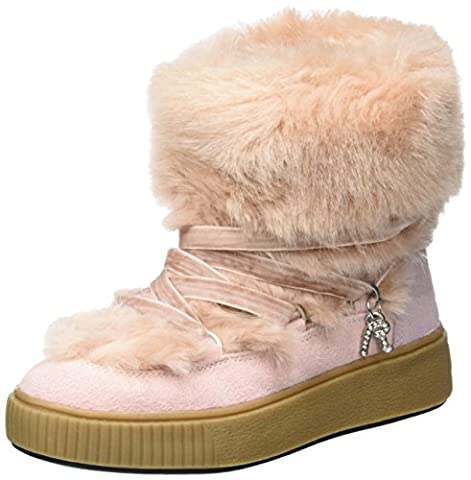 REPLAY Girls' Blondes Snow Boots, Pink, 13 UK 13UK Child