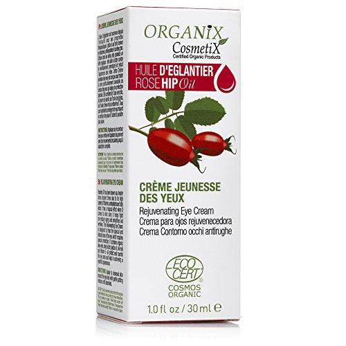 Organix Cosmetix EMD Crème Jeunesse des Yeux Huile d'Églantier Bio 30 ml