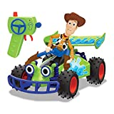 Toy Story 203154001 Disney Pixar 4-RC Buggy with Woody 1: 24 Scale, Multi-Colour