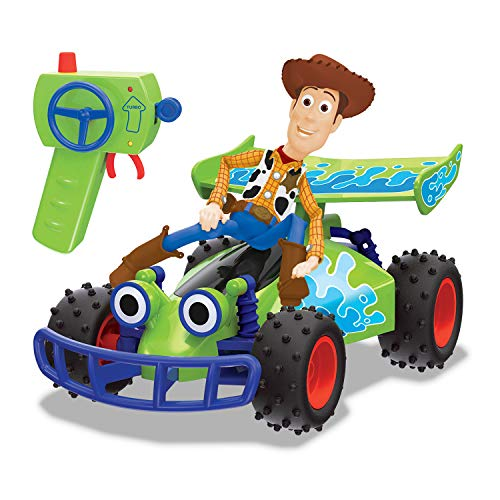 Dickie Toys- Toys Story 4 Buggy Woody radiocontrol,...