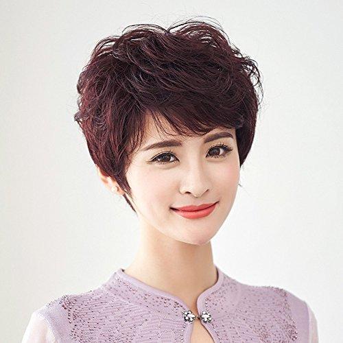Alte fake Haar/shaggy kurze Haare/Natural ()