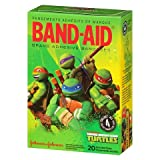 Best Band-Aid Adhesive Bandages - Band-Aid Assorted Adhesive Bandages, NINJA TURTLES, 20 Count Review