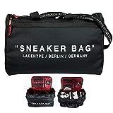 LaceHype Sneaker Bag Schuhtasche Shoebag Reisetasche für Schuhe mit Trennwänden - hochwertige...