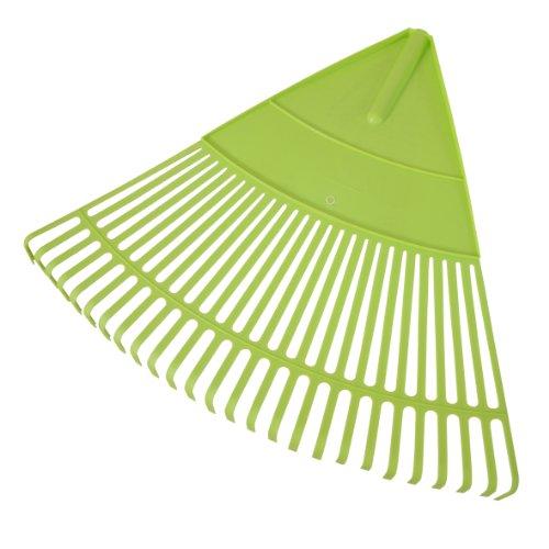 Xclou Garden Laubbesen Kunststoff, 62x54cm ohne Stiel, Grün, Kehrbreite ca. 54 cm