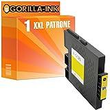 Gorilla-Ink® 1x Gel-Patrone XXL mit Chip kompatibel für Ricoh GC-31 Gelb Ricoh Aficio GX e 3300 Series GX e 3300 N GX e 3350 N