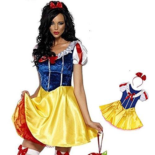 Snow White Halloween Costumes Adult Party [Esupurimu] J13-011 (japan import)