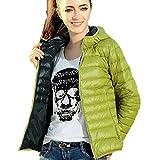 FEITONG Femmes Hiver chaud Bonbons Couleur Thin Slim Down Coat Jacket Pardessus