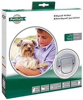 PetSafe Staywell Chatière effet givré pour gros chat/petit chien