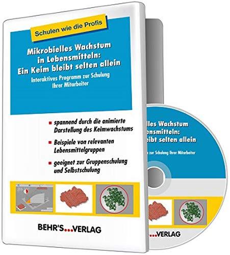 Mikrobielles Wachstum in Lebensmitteln: Ein Keim bleibt selten allein, DVD-ROMInteraktives Programm zur Schulung Ihrer Mitarbeiter