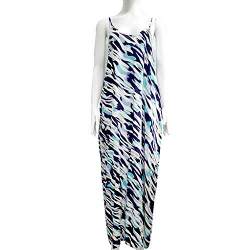 Kleid Transer® Damen OAusschnitt Sleeveless Kleider mit Tasche ...