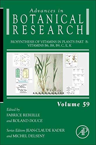 Biosynthesis of Vitamins in Plants Part B: Vitamins B6, B8, B9, C, E, K (Advances in Botanical Research)