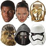 6 STAR WARS Party-Masken