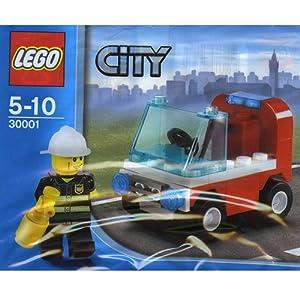 LEGO City: Auto Vigile Del Fuoco Set 30001 (Insaccato) 5702014596535 LEGO
