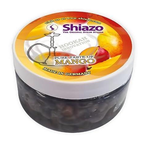 Shiazo Pierres pour narguilé Sans tabac Mangue 100g