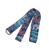 BESPORTBLE la cintura elastica per yoga estende la cinghia per tirare la cinghia che allunga la fascia per la resistenza del fitness per l'esercizio sportivo 183x3 8 cm