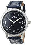 TOM TAILOR Watches Herren-Armbanduhr Analog Quarz Leder 5415202
