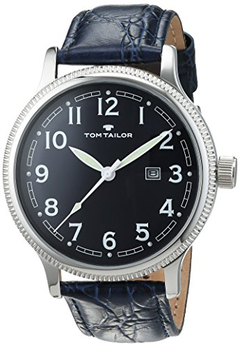 erren-Armbanduhr Analog Quarz Leder 5415202 (Tom Watch)