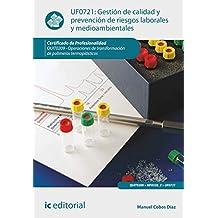 Gestión de calidad y prevención de riesgos laborales y medioambientales. quit0209 - operaciones de transformación de polímeros termoplásticos