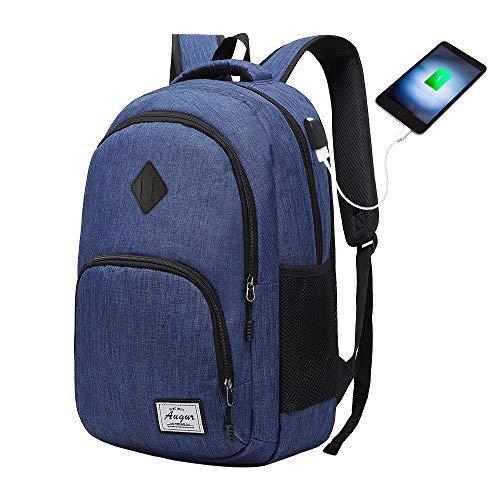 dcc94478de HITOP Laptop Zaino, zaino della scuola con porta USB di ricarica, 35L  Affari Zaino