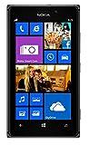 """Nokia Lumia 925 - Smartphone, Orange Libero (schermo 4.5"""", 8.7 MP fotocamera, 16 GB, 1.5 GHz, 1 GB di RAM, Windows Phone), Nero"""