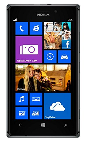 Nokia Lumia 925 Smartphone Orange kostenlose (11,4 cm (4,5 Zoll) WXGA HD OLED-Touchscreen, 8,7 Megapixel Kamera, 1,5 GHz Dual Core Prozessor) Schwarz