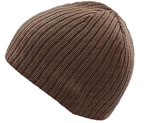 4sold Unisex Men Boys Womens Girls Winter Hat Wool Knitted Beanie Fleece Cap SKI Snowboard Hats