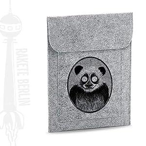 Tablet Filzhülle 'Panda – gezeichnet'