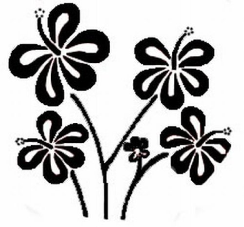 home-design-b6009-wandschablone-hibiscus-70-x-100-cm