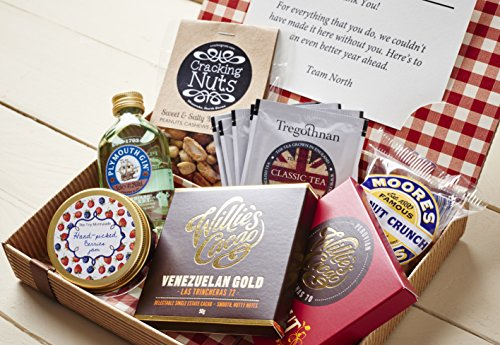 Best of British Personalised Letter Box Hamper