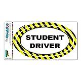 Graphics and More Student Driver Vorsicht–Euro Oval Mag-Neato 's-TM Automotive Auto Motorhaube Kofferraum Kühlschrank Locker Vinyl Magnet