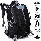 Adnyoutdoor 40L Waterproof Hiking Backpack, Lightweight Multi-Functional Outdoor Sports Traveling Rucksack, Suitable