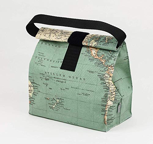 Tasche für Unterwegs, Lebensmittel, Frühstück, Brotzeit. Wiederverwendbare wasserdichte Tüte. Umweltfreundliches Produkt