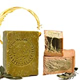 Sapone originale Aleppo classico, 60% olio d'oliva, 40% olio di alloro ca. 200 g