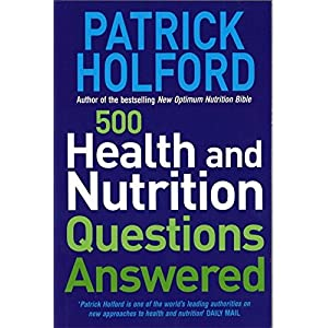 500 Health And Nutrition Questions Answered (Paperback)