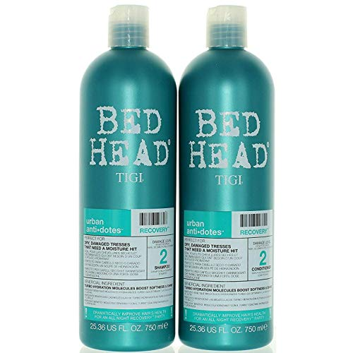 TIGI Bed Head Urban Anti-dote Recovery Shampoo & Conditioner Duo Damage Level 2 (25.36oz) by TIGI