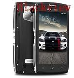 Blackview BV7000 Handy Ohne Vertrag Android 7.0 MT6737T Ouad Core 2GB RAM 16GB ROM, 5.0 Zoll IP68 Wasserdichte/Stoßfest/Staubdicht, 4G Dual SIM Dual Standby (Silber)