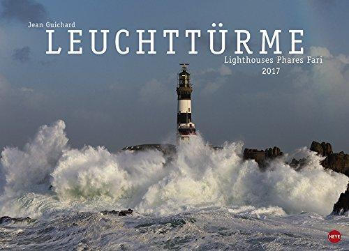 Leuchttürme Posterkalender - Kalender 2017 - Heye-Verlag - Wandkalender - 68 cm x 49 cm