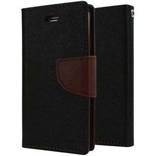 OTOVON Wallet Diary Flip Cover for Micromax YU Yureka AO5510 - Choco Brown