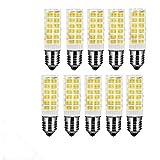 OUGEER 10 Stück E14 LED Lampen 7W warmweiß 3000K AC 220–240 V, 650Lumens Non-dimmbar Edison-Leuchtmittel E14 Ersatz 65W Halogen Leuchtmittel