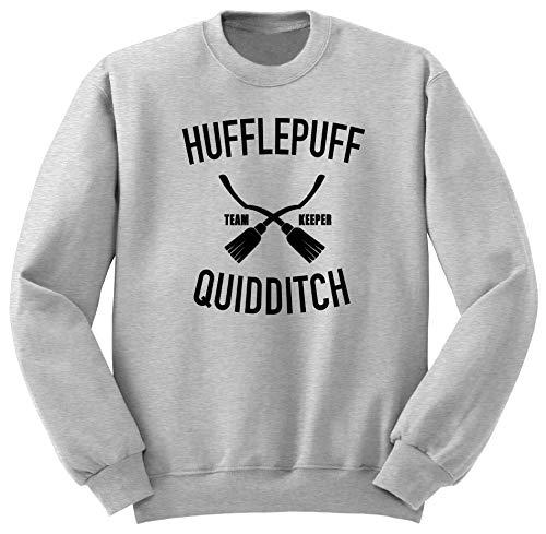 Hufflepuff Sudadera/Harry Potter Quidditch/Hogwarts Sweatshirt M