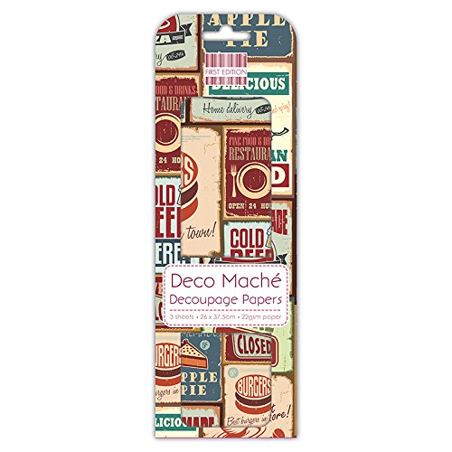 trimcraft-deco-mache-paper-1025-inch-x-1-475-inch-vintage-food-signs-acrylic-multicoloured-3-piece