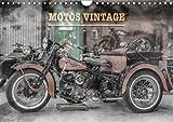 Motos vintage : Exposition de motos anciennes. Calendrier mural A4 horizontal 2016...