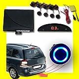 OCS.tec Kfz Auto Park Distance Control Einparkhilfe PDC Wireless Funk LED Blau AL4