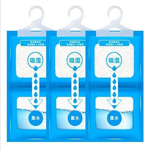 5er Pack Luftentfeuchter f?r Kleiderschrank, Auto, Caravan, Wohnwagen, Keller, Schrank, Feuchtigkeitssammler
