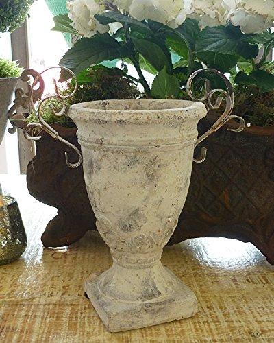 pokal-vase-pflanztopf-blumen-bertopf-23-cm-terrakotta-mit-metallhenkel-shabby