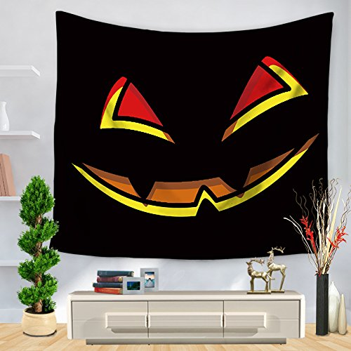 Halloween-Serie gedruckt Tapisserie Home Decoration Wand hängenden Strand -