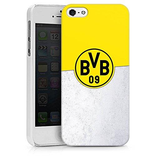 Apple iPhone X Silikon Hülle Case Schutzhülle Borussia Dortmund Fanartikel BVB Hard Case weiß