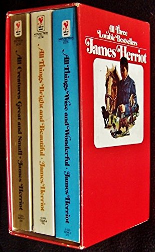 James Herriot, 3 Volumes Boxed Set Includes: